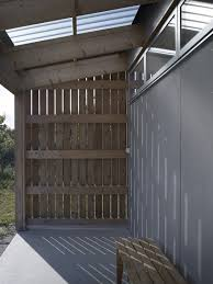 Corrugated Metal Interior Design Small Swedish House Made From Boards And Corrugated Metal
