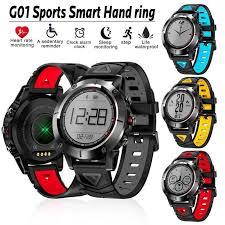 <b>G01</b> GPS <b>Smart Watch</b> IP68 Waterproof Heart Rate Monitor ...