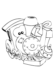 Coloring book, coloring page of zentangle stylized christmas tree,fireplace,armchair for santa clause, christmas wreath and presents.vector illustration. Polar Express Coloring Pages Best Coloring Pages For Kids