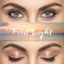 first light make up look