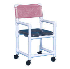 pvc rolling shower chair. soft seat wheeled rolling shower chair made from no-rust pvc vl of17 g pvc rolling shower chair