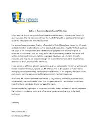 ins letter of recommendation dr insco letter of recommendation holman