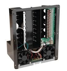 all in one 240v, 50 amp ac dc power distribution panel airstream breaker box at Dc Fuse Box For Camper