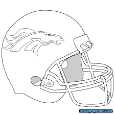 Nfl Logo Coloring Pages Free Printable Coloring Pages