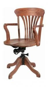 wooden chair. Wooden Swivel Office Chair