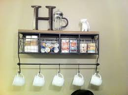 diy coffee cup display view larger with coffee cup hanger