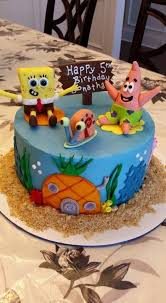 Spongebob Birthday Cakes Spongebob Birthday Cake Cakecentral