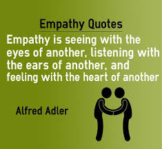 Empathy Quotes Simple Empathy Quotes Feeling With The Heart Of Another Empathy Q Flickr