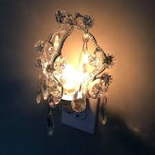 wonderful clear chandelier night light pictures concept