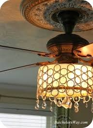beautiful covered ceiling fan with light