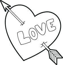 Heart For Coloring Love Coloring Page Coloring Pages Hearts Coloring