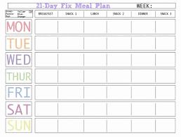 Weekly Meal Plan Sheet Meal Plan Template Printable Awesome 45 Printable Weekly