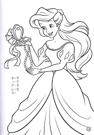 Disney Princess Coloring Book Pagesll L