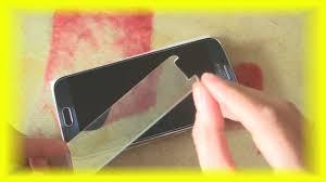 Как наклеить <b>защитное стекло</b>, плёнку на Samsung Galaxy s6 ...
