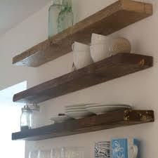 Oak Floating Corner Shelves Shelves Oak Chunky Nobailoutorg 29