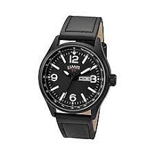 watches for men debenhams limit men s black date strap watch