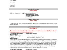 Download Objective For Nursing Resume Haadyaooverbayresort Com