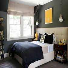 Awesome Gray Bedroom With Yellow Accents Ideas Trends Home 2017