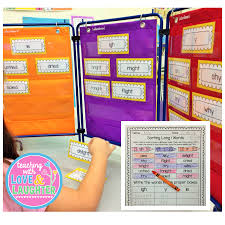 The Ultimate First Grade Word Sorts And Pocket Chart Cards