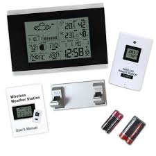 indoor thermometer. r01aok-5018b digital wireless indoor outdoor weather station thermometer o