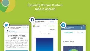 Android Tabs Exploring Chrome Custom Tabs In Android