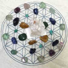 Crystal Grid Patterns Impressive Crystal Grid How To Make Your Own Crystal GridsEnergy Muse Blog