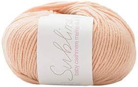 Sublime Baby Cashmere Merino Silk Dk Double Knitting 50g Buttercream 437 By Sirdar
