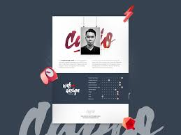 Creative Resume Template Freebie Download Photoshop Resource Psd
