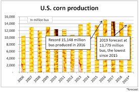 Protein In Foods Chart Usda U S D A Lowers 2019 Corn Soybean Production Forecasts