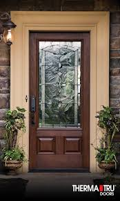 therma tru entry doors fiberglass gallery doors design modern
