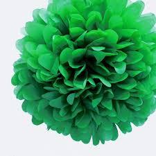 Tissue Paper Pom Poms Flower Balls 20 Dark Green Tissue Paper Pom Poms Flowers Balls Decorations 4 Pack
