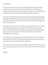Cover Letter Computer Science Internship Computer Science Internship Cover Letter Shared By Ricky Scalsys