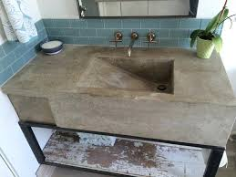 custom concrete sink modern charming build your own 5 how to make a mold vessel bowl