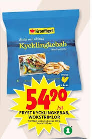 Kronfågel ab belongs to the largest firms in sweden (sweden). Kronfagel Kyckling Ica Maxi 2021