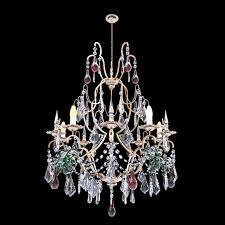 classic glass chandelier 2 3d model max obj fbx mtl 1