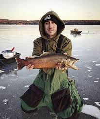The Fishing Report Favorable Ice Fishing Conditions Across