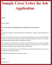 Letter Of Applications Examples Sample Of Simple Cover Letter For Job Application Yun56co