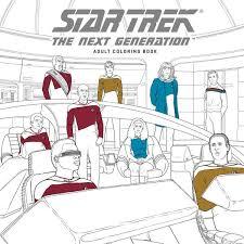star trek the next generation coloring book profile dark horse ics