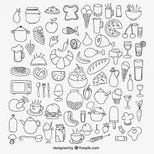 icons of sketchy food_23 2147507464 food vectors, photos and psd files free download on free psd photo templates