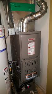 lennox gas furnace. lennox ml180 downflow natural gas furnace installed by compass heating and air conditioning, inc.
