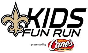 KIDS FUN RUN - Saints Kickoff Run