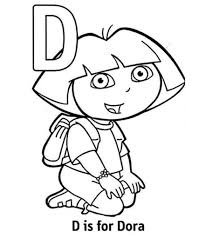 Coloring is a fun way for kids to be creative and learn how to draw and use the colors. Top 10 Free Printable Letter D Coloring Pages Online