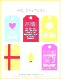 Avery Holiday Label Gift Tag Label Template