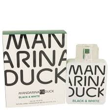<b>Mandarina Duck Black</b> & <b>White</b> Cologne, 3.4 oz Eau De Toilette Spray