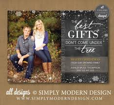 Christmas Birth Announcement Ideas Baby Announcement Christmas Card Stockings Holiday Card Christmas Ba