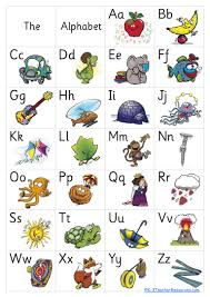 Alphabet Chart Pdf Download Free Alphabet Poster 8 Pages
