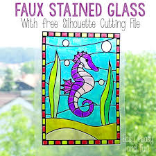 stained glass suncatcher crafts for kids