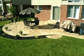 simple backyard patio designs
