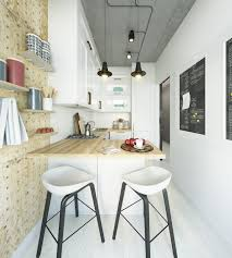 Cute Kitchen For Apartments Two Takes On The Same Super Small Apartment