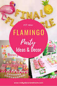 Diy Party Printables Flamingo Party Decorations Ideas For A Diy Birthday Or